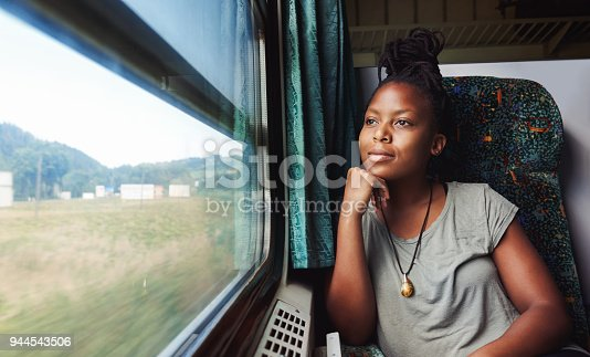 istock And she asks herself where to next? 944543506