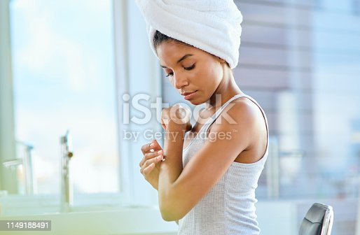 istock And that's how she stays so perfectly smooth 1149188491