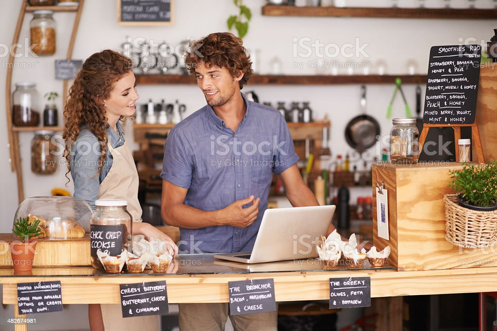 And that's how the system works stock photo