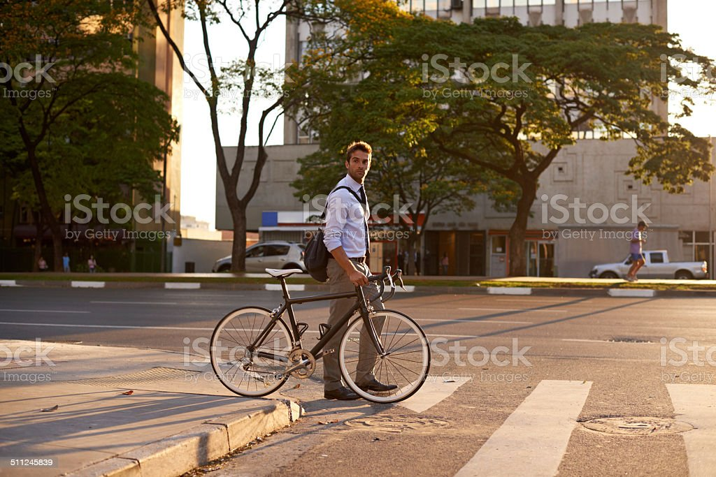 And the best thing: no traffic stock photo