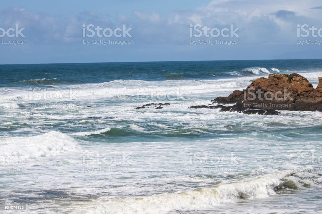 And the Waves Roll In - Royalty-free Beauty In Nature Stock Photo