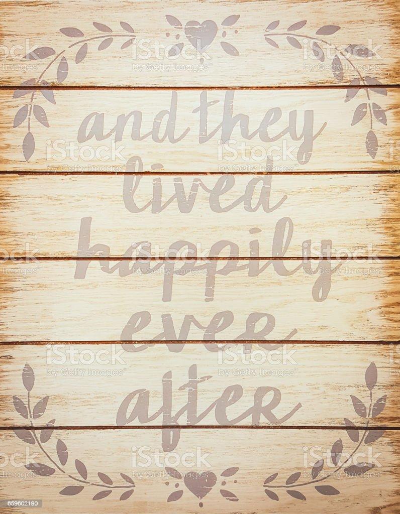 Y Vivieron Feliz Siempre Después Frase Común Para Terminar