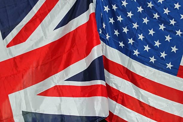 UK und USA-Flaggen – Foto