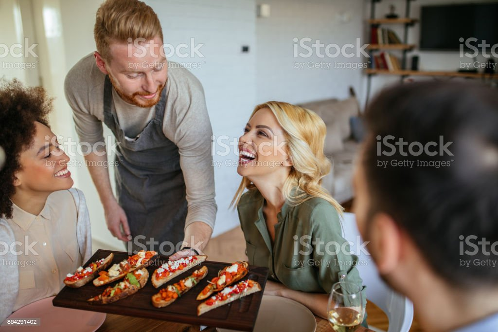 And what helps us laugh better than our crew? royalty-free stock photo