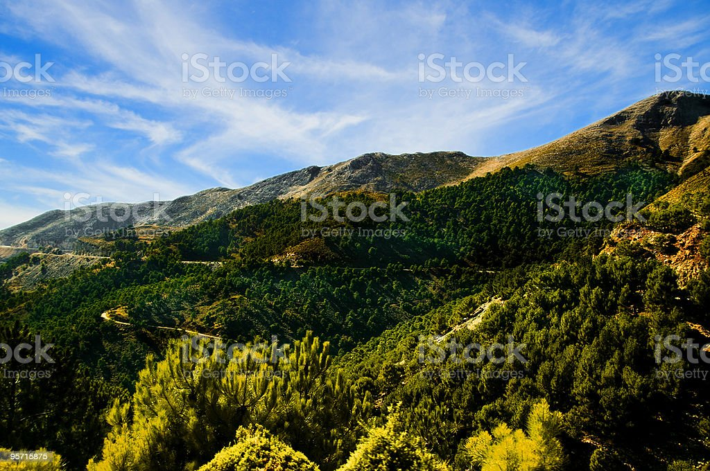 Andalusia landscape royalty-free stock photo