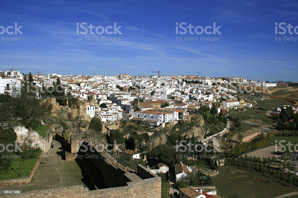 Andalusia, Ronda view royalty-free stock photo