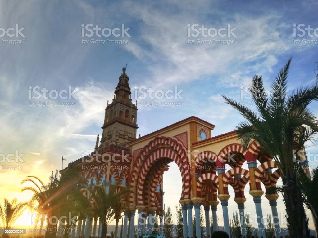 Andalusian architecture royalty-free stock photo