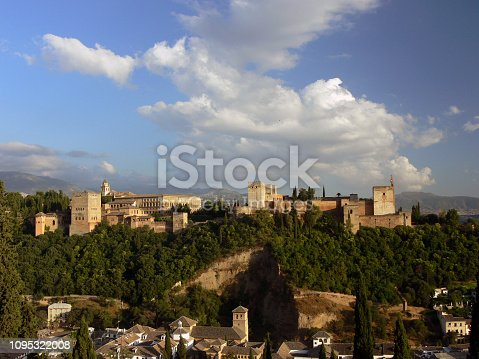 1135138312istockphoto Andalusian landscape from the air. 1095322008