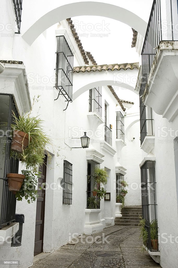 Andalusian street royalty-free stock photo