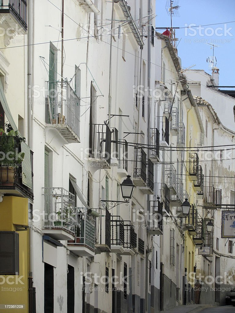 Andalusian Village royalty-free stock photo