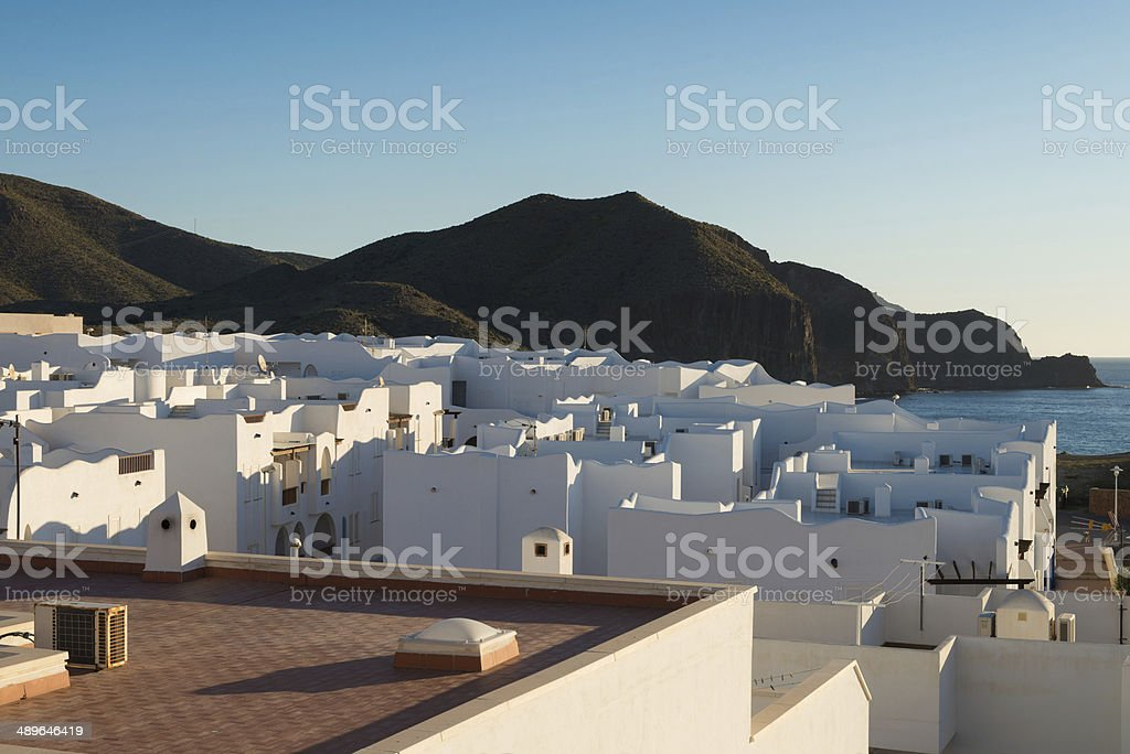 Andalusian village stock photo