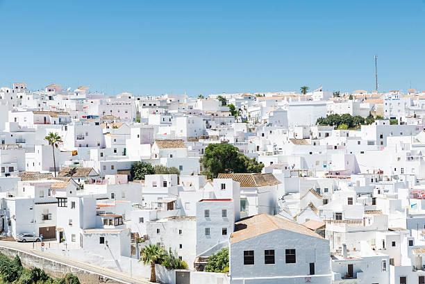 village d'andalousie, espagne - andalousie photos et images de collection