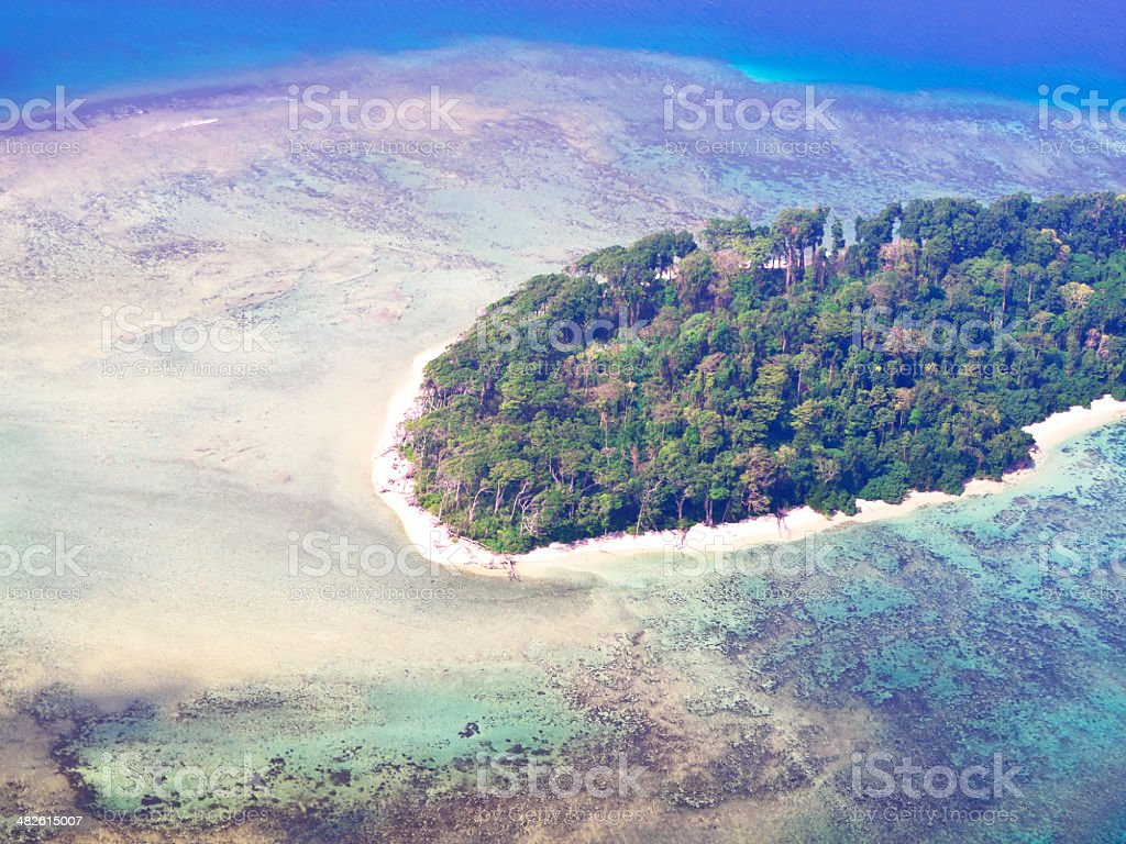 Andaman Island stock photo