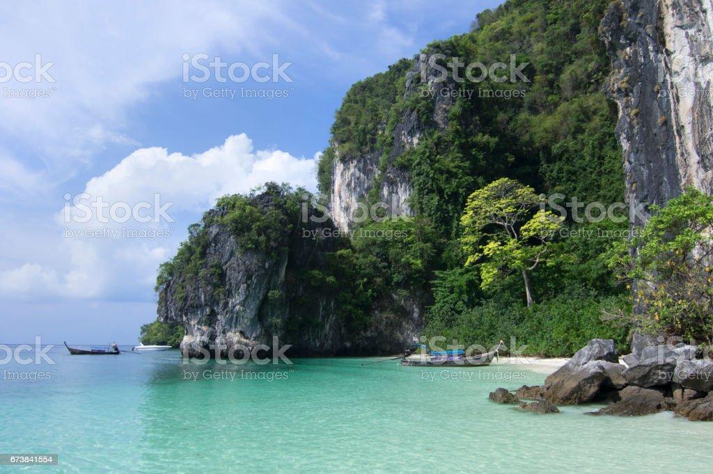 Andaman sea in Thailand Island. royalty-free stock photo