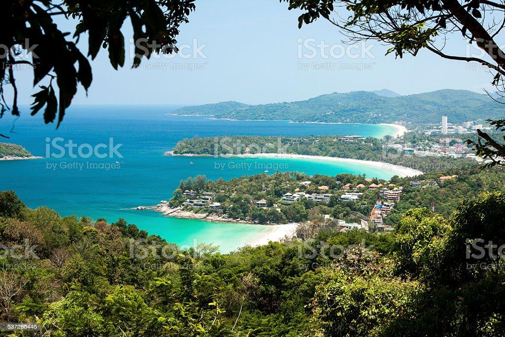 Andaman Sea, Phuket stock photo