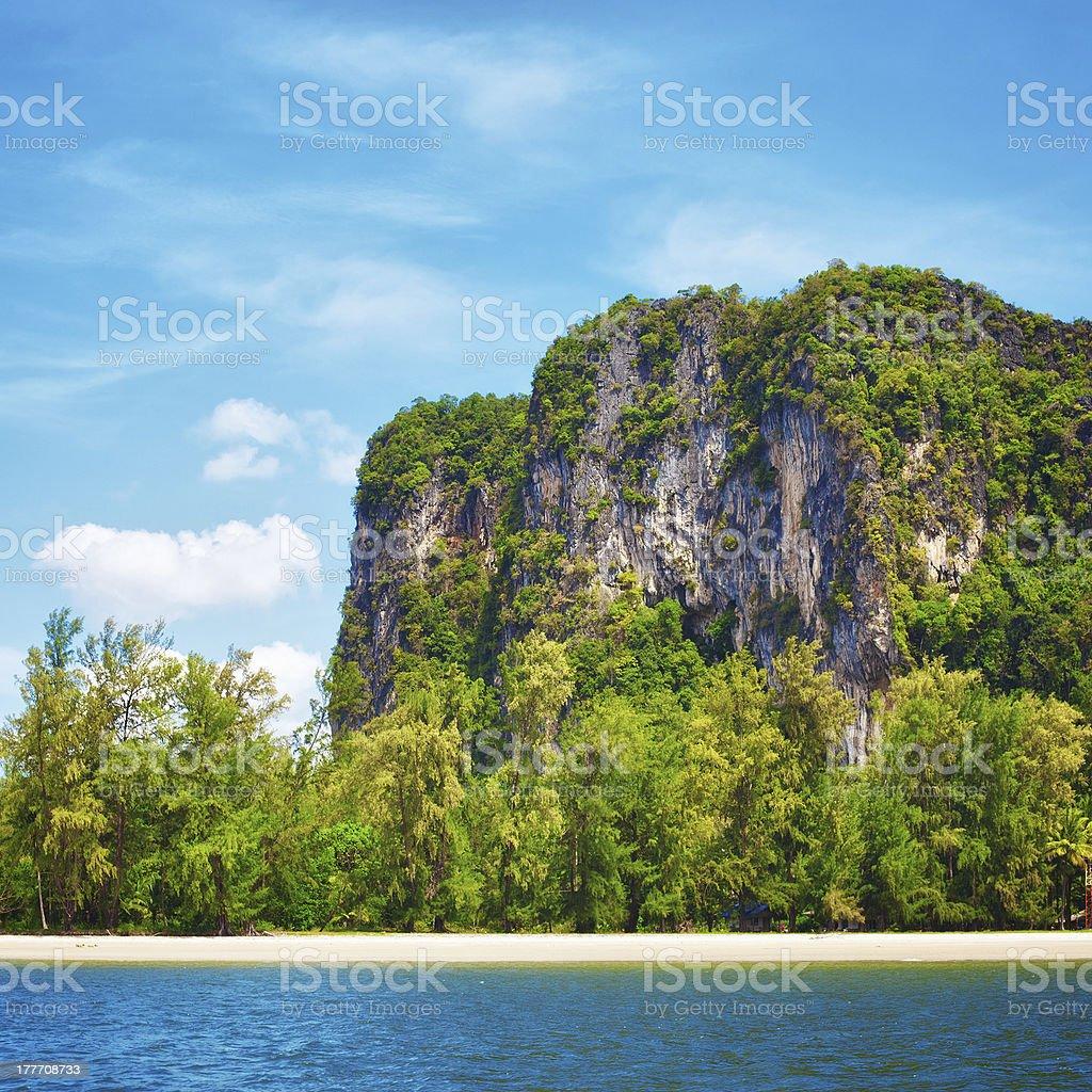 Andaman Sea Shore royalty-free stock photo