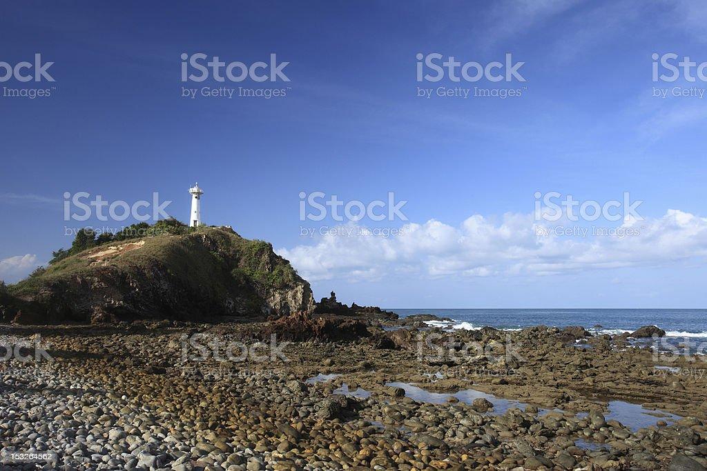 Andaman Sea,Lighthouse royalty-free stock photo