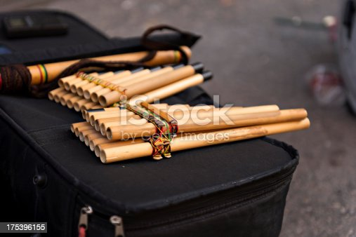 Traditional instruments for South American music.