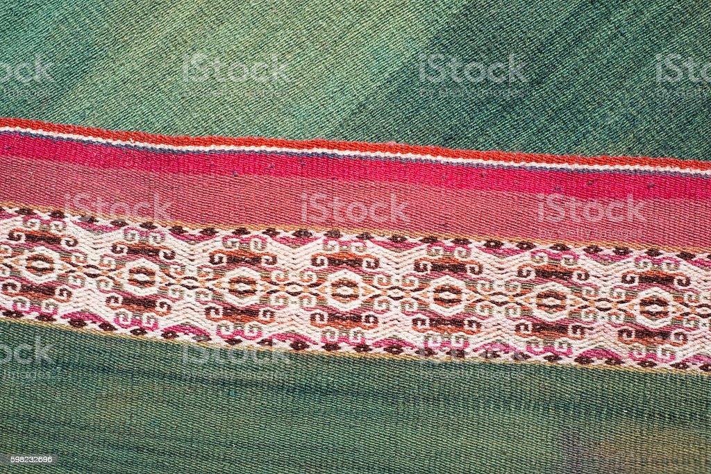 Andean  loom foto royalty-free