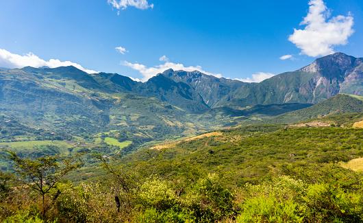 istock Andean mountain range in north Peru 1014261408