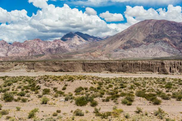 Anden-Panorama mit Flussbett – Foto