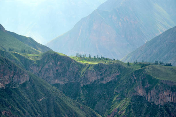 Andean Scenery stock photo