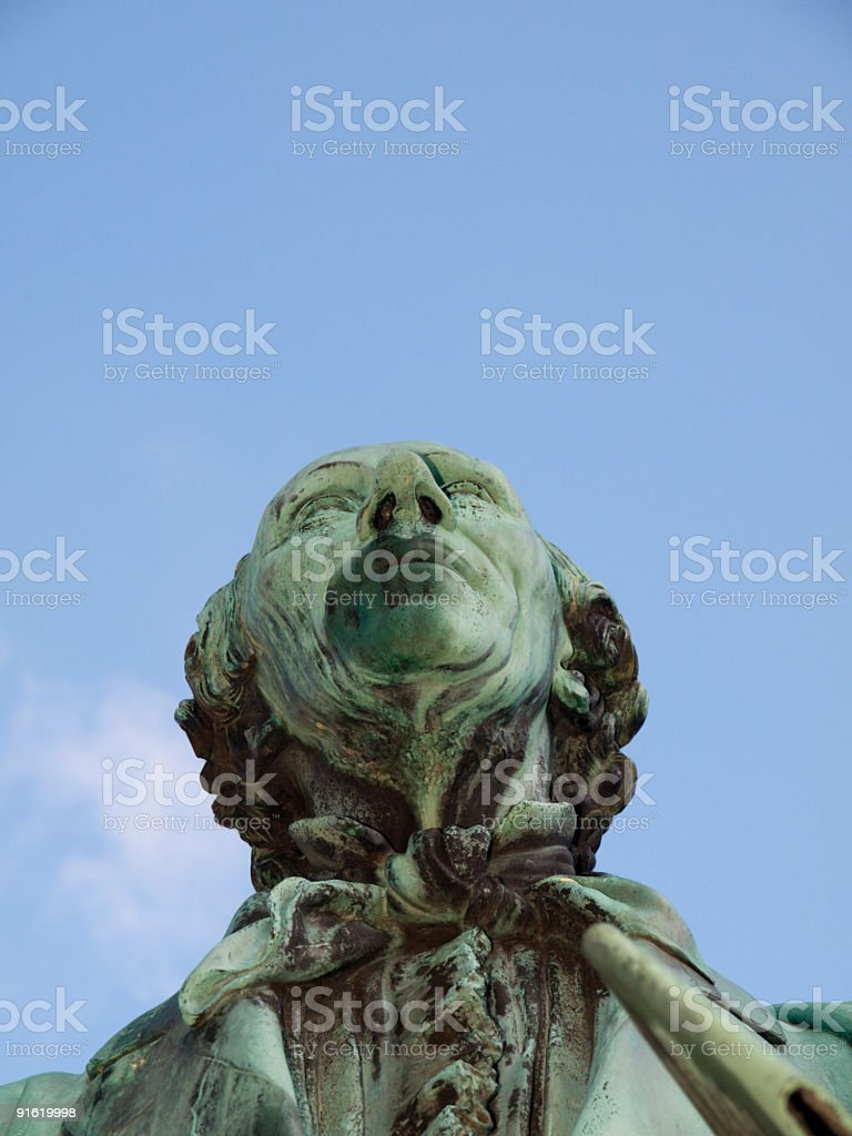H. C. Andersen royalty-free stock photo
