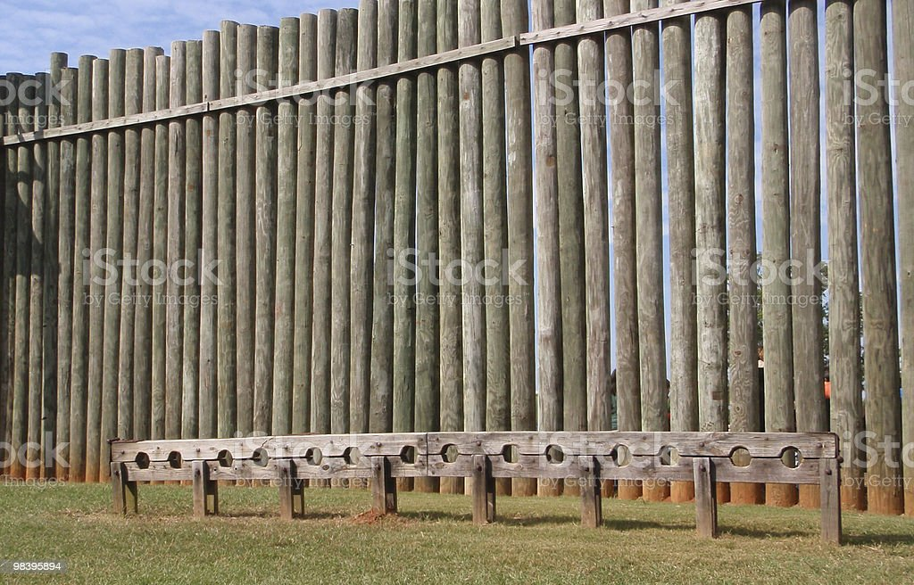 Andersonville Stockade royalty-free stock photo