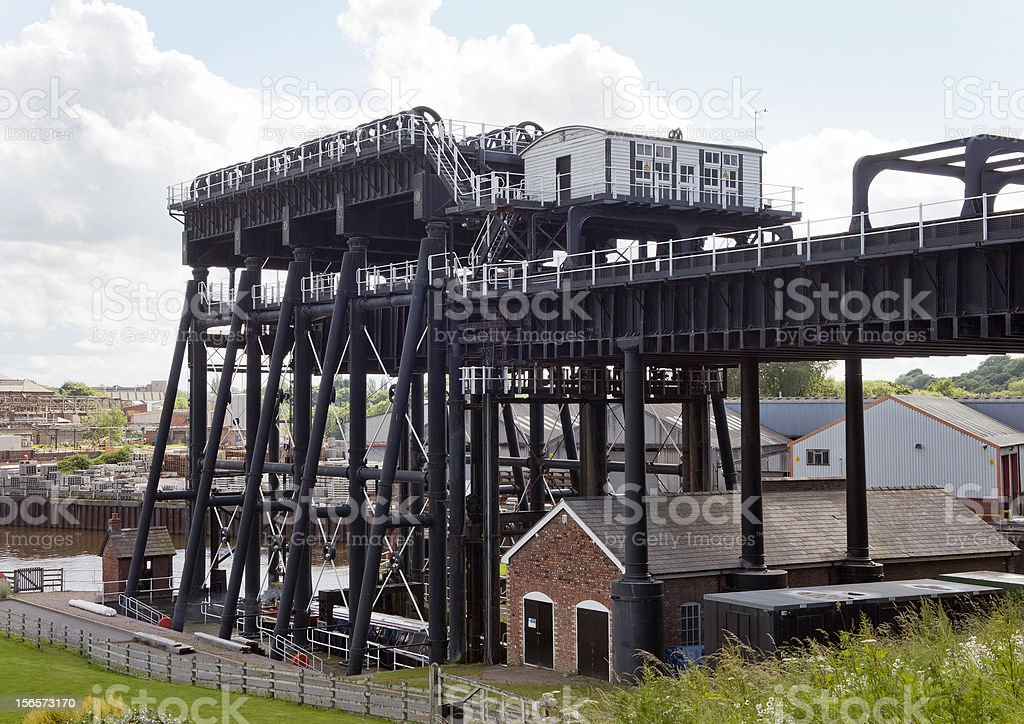 Anderton Boat Lift royalty-free stock photo
