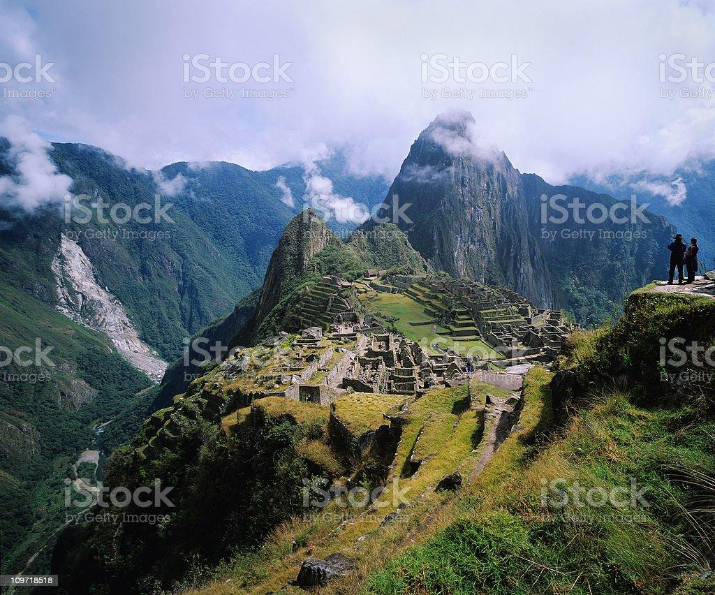Andes citadel royalty-free stock photo