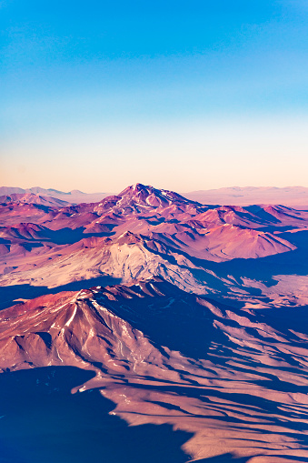istock Andes Mountains Aerial Landscape Scene 813155406