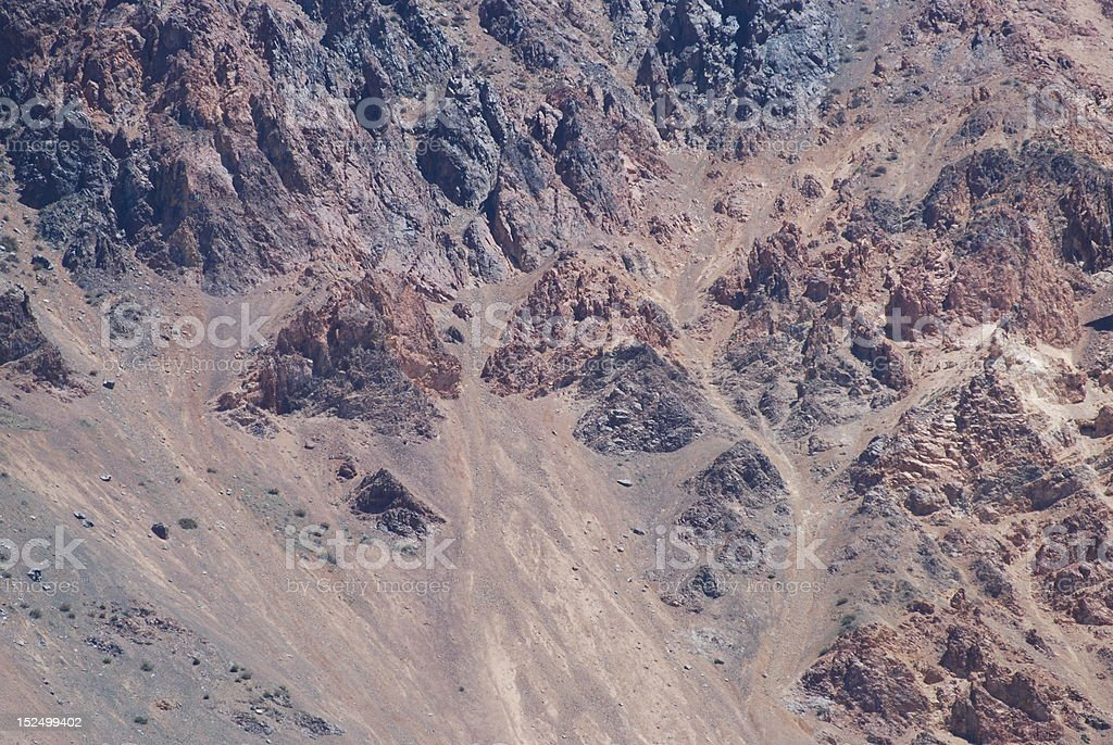 Andes Rock stock photo