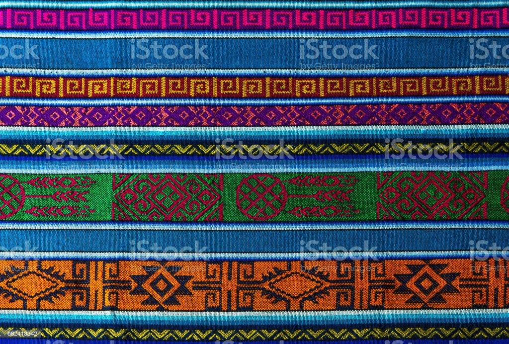 Anden traditionellen Textil – Foto