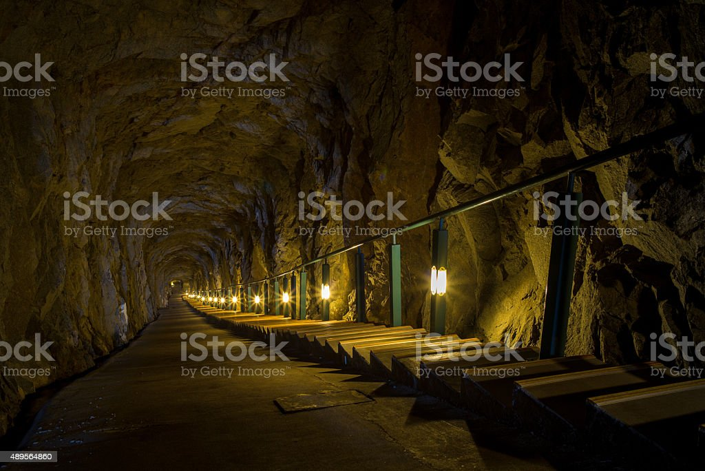Andong Tunnel stock photo