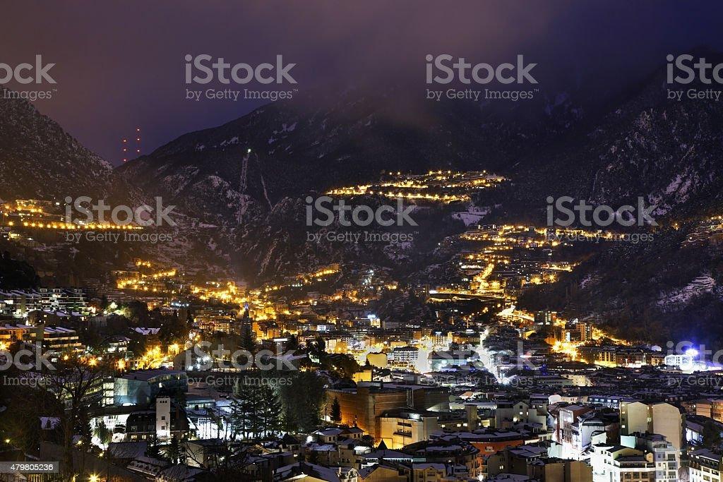 Andorra la Vella. TM - foto de acervo
