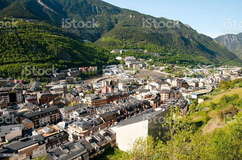 Andorra La Vella-Andorra - foto de acervo