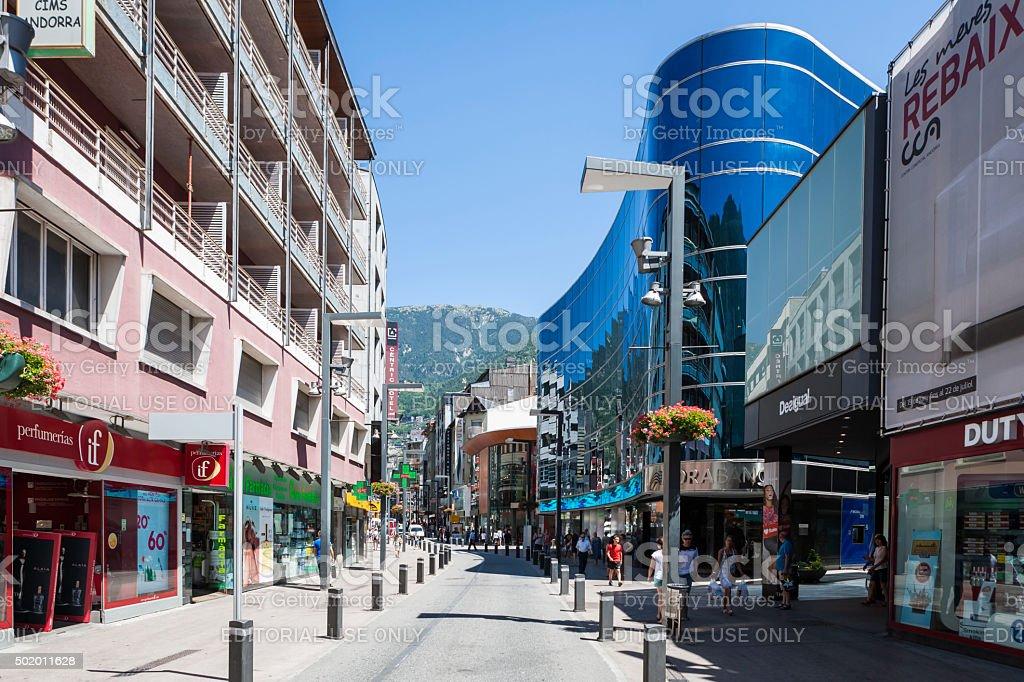 Andorra la Vella - foto de acervo