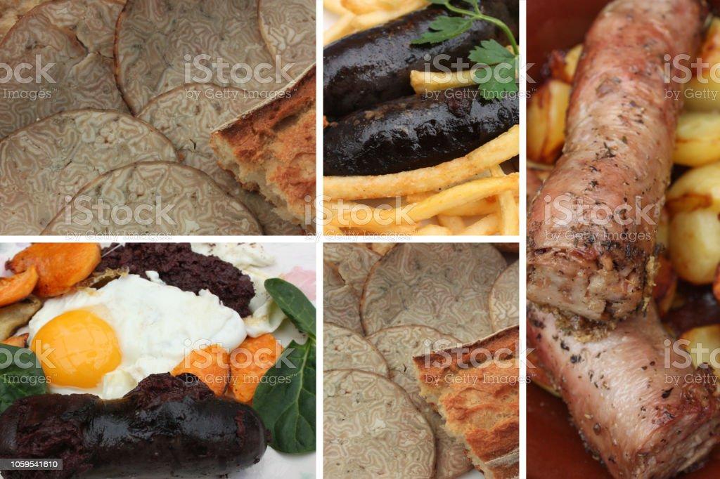 Andouille de saucisses Andouillette Black pudding - Photo