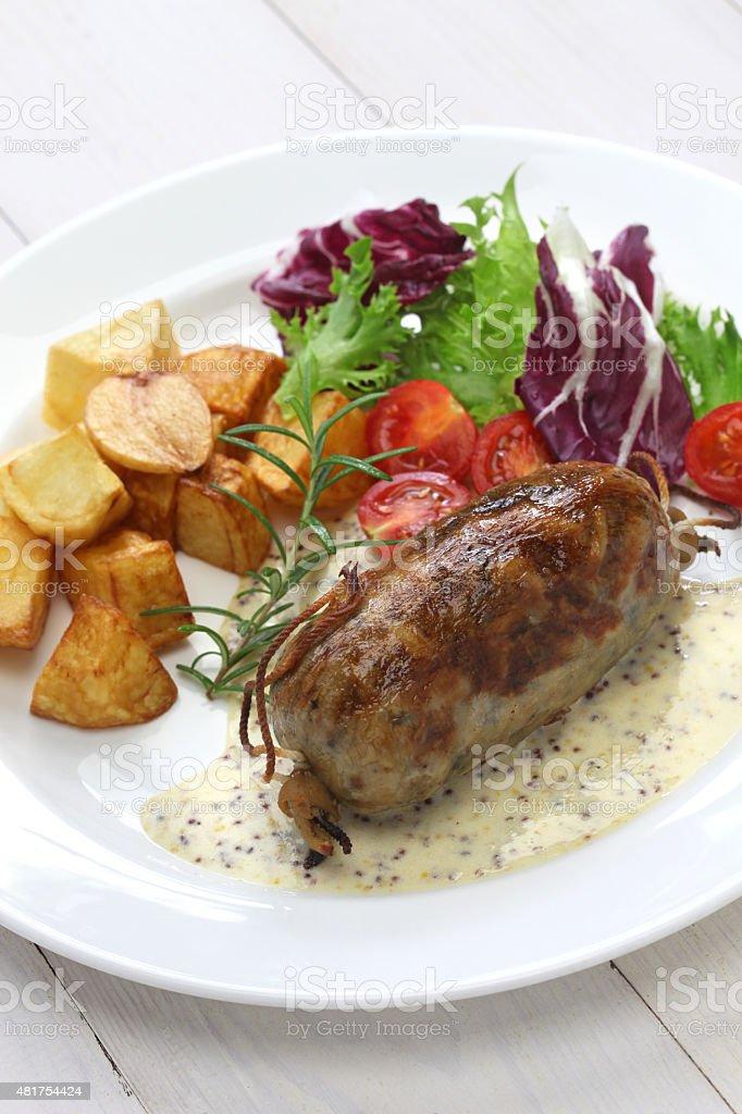 L'andouillette, français lyonnaise des saucisses - Photo