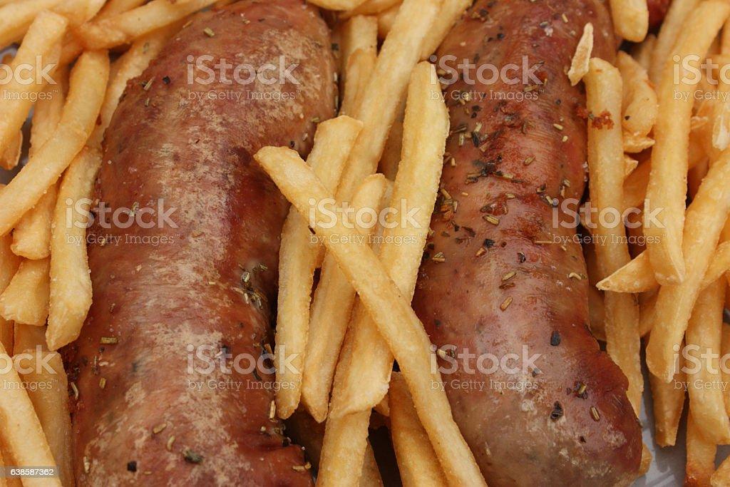 Andouillette frites - Photo