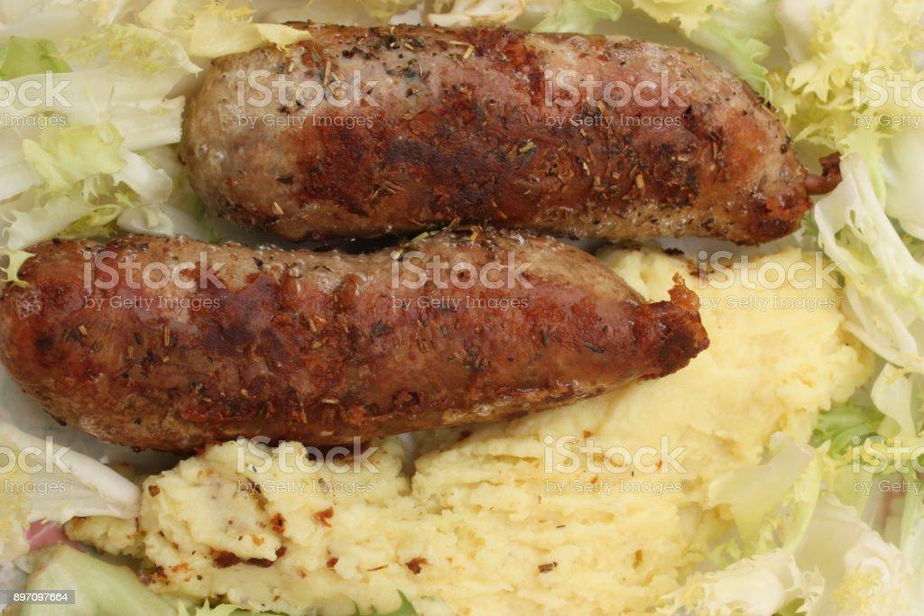 Andouillette de purée de pommes de terre - Photo