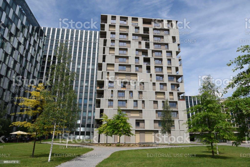 Andreaspark3 - Zuerich - Photo de Affaires libre de droits