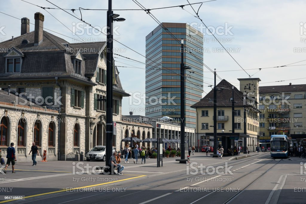 Andreasturm - Zurich royalty-free stock photo