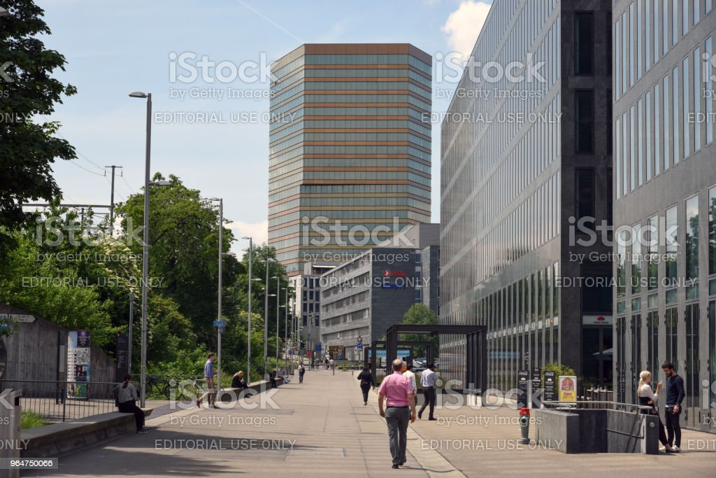 Andreasturm - Zurich royalty-free stock photo