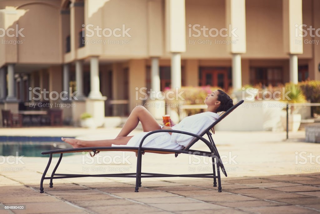 And...relax stock photo