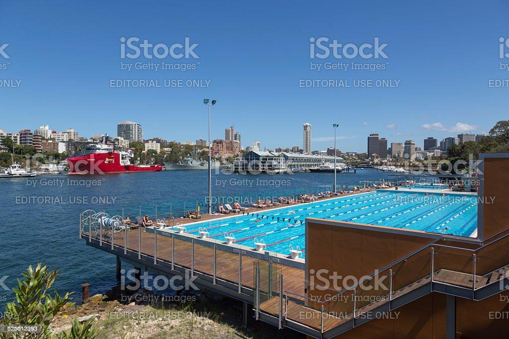 Andrew Charlton Aquatic Centre, Sydney, Australia stock photo