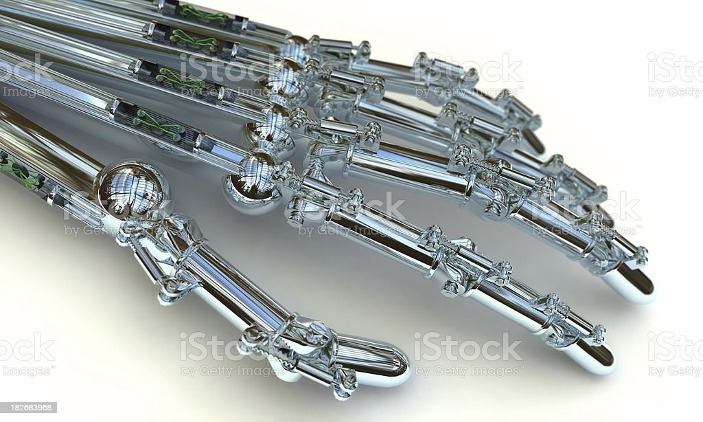 Android Hand royalty-free stock photo