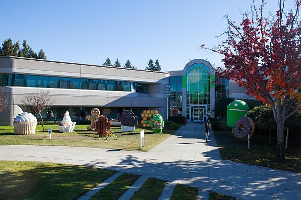 Android prato Statue - foto stock