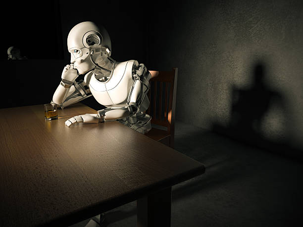 Android mit Depression – Foto