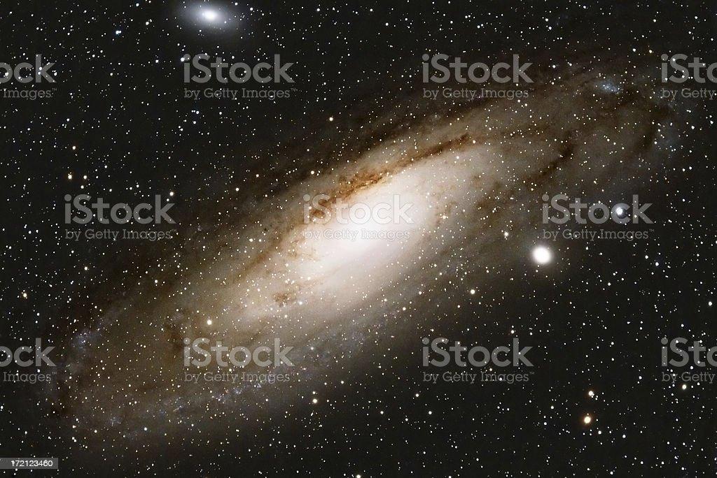 Andromeda Galaxy royalty-free stock photo
